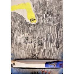 """VILADECANS Joan-Pere. """"Collage de pintura"""". 1970."""