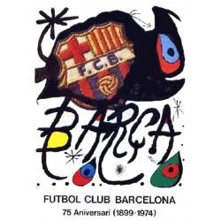 MIRÓ Joan. FC Barcelona. 1974