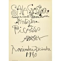 "PICASSO Pablo. ""Sala Gaspar. Pinturas de Picasso. Noviembre-Diciembre 1960""."