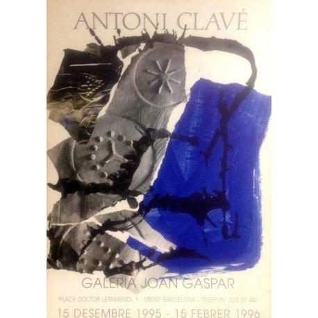 "CLAVÉ Antoni. Poster ""Galeria Joan Gaspar"""