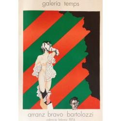 ARRANZ-BRAVO & BARTOLOZZI. Galeria Temps 1974.