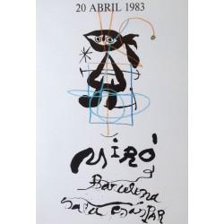 MIRÓ Joan. Sala Gaspar. 20 abril 1983.