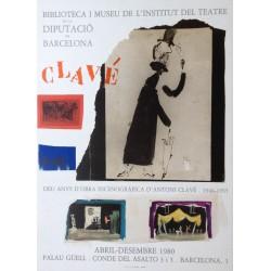 CLAVÉ Antoni. Deu anys de l'obra escenogràfica d'Antoni Clavé. 1946-1955.