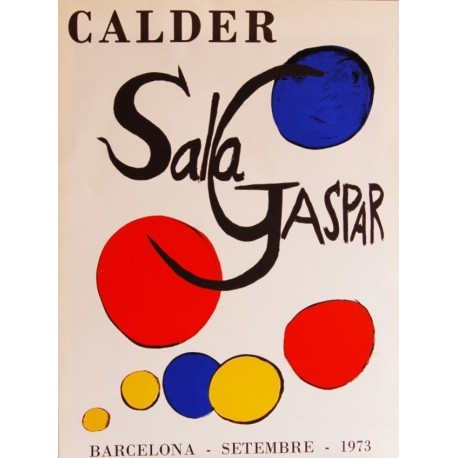 Alexander Calder. Sala Gaspar 1973
