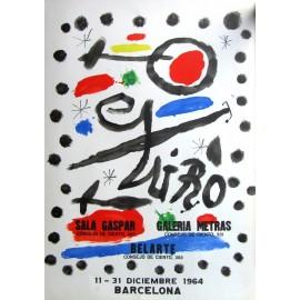 """Joan Miro. """"Gravados, litografías e ilustraciones"""". 1964."""