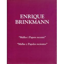 BRINKMANN Enrique. Mallas y Papeles recientes. 2008-2009.