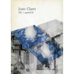CLARET Joan. Olis i aquarel·les. 1995.
