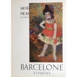 "PICASSO Pablo. ""Danseuse Naine 1901"". Museo Picasso. Barcelona"
