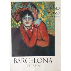 """PICASSO Pablo. """"L'Attente 1901"""". Museo Picasso. Barcelona"""