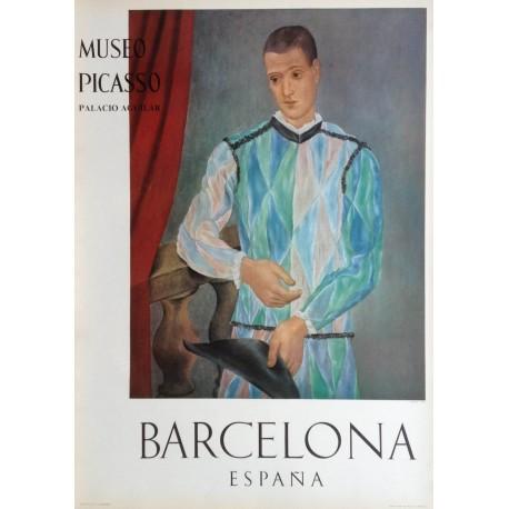 "PICASSO Pablo. ""Arlequin 1917"". Museo Picasso. Barcelona"