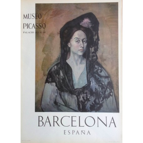 """PICASSO Pablo. """"Madame Canals 1905"""". Museo Picasso. Barcelona"""