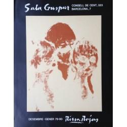 RIERA ROJAS Roc Antoni. Exposició a Sala Gaspar. Barcelona