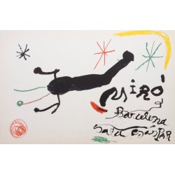 "MIRÓ Joan. Cover from ""Album 19"". 1964."