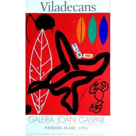 VILADECANS Joan-Pere. Galeria Joan Gaspar 1994