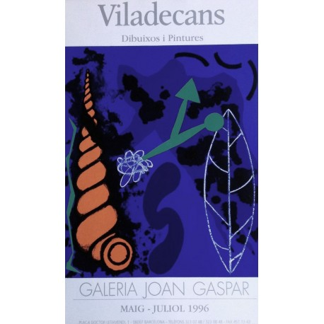 VILADECANS Joan-Pere. Galeria Joan Gaspar 1996