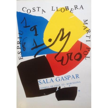 """MIRÓ Joan. """"Costa Llobera"""". 1981."""