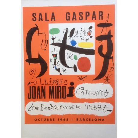 """MIRÓ Joan. """"Les essències de la terra"""". 1968."""
