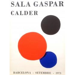 CALDER Alexander. Sala Gaspar 1973