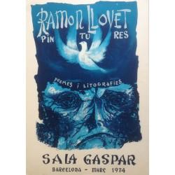 "LLOVET Ramon. ""Pintures: Poemes i litografies"". 1974."